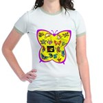Butterflies Jr. Ringer T-Shirt