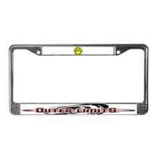 Funny Outer License Plate Frame