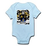 Wrangel Family Crest Infant Creeper