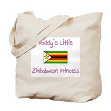 Daddy's little Zimbabwean Princess Tote Bag