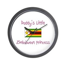 Daddy's little Zimbabwean Princess Wall Clock