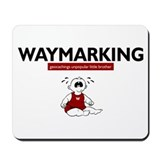 Waymarking, geocachings unpop Mousepad