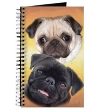 Pugaholics Journal - Fawn & Black Pug Pair
