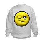 Winky Face Kids Sweatshirt