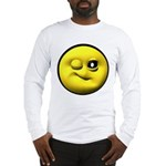 Winky Face Long Sleeve T-Shirt
