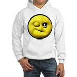 Winky Face Hooded Sweatshirt