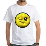 Winky Face White T-Shirt