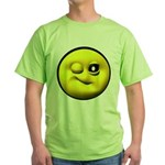 Winky Face Green T-Shirt
