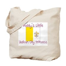 Daddy's little Vatican City Princess Tote Bag