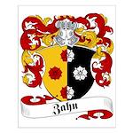 Zahn Family Crest Small Poster
