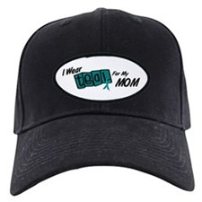 I Wear Teal 8.2 (Mom) Baseball Hat