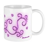 Swirl Hearts Coffee Mug