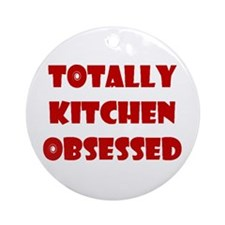 Totally Kitchen Obsessed Keepsake (Round)