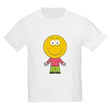 Boy Smiley Face T-Shirt