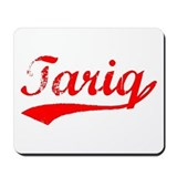 Vintage Tariq (Red) Mousepad