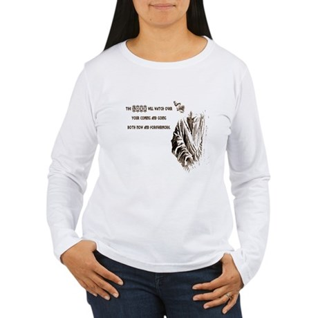 The LORD will Watch Women's Long Sleeve T-Shirt