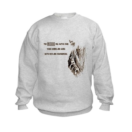 The LORD will Watch Kids Sweatshirt