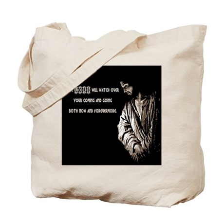 The LORD will Watch Tote Bag