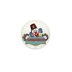 Proud Shriner Clown Mini Button