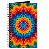 Rainbow Tie-dye Mandala Journal