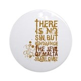 The Jew of Malta Ornament (Round)