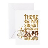 The Jew of Malta Greeting Cards (Pk of 20)