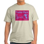 Trailer Park News Ash Grey T-Shirt