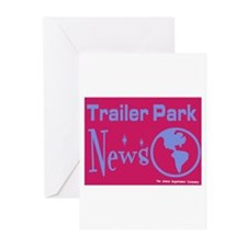 Trailer Park News Greeting Cards (Pk of 10)