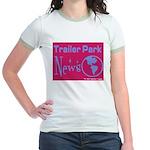 Trailer Park News Jr. Ringer T-Shirt
