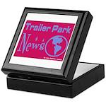 Trailer Park News Keepsake Box