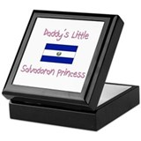 Daddy's little Salvadoran Princess Keepsake Box