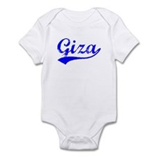 Vintage Giza (Blue) Infant Bodysuit