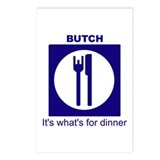 Butch for Dinner2 Postcards (8)
