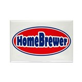 HomeBrewer Oval Rectangle Magnet (100 pack)