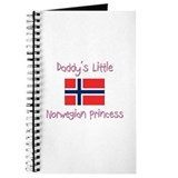 Daddy's little Norwegian Princess Journal