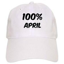 100 Percent April Baseball Cap