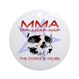 MMA Shirts and Gifts Ornament (Round)