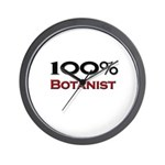 100 Percent Botanist Wall Clock