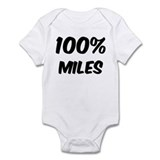 100 Percent Miles Infant Bodysuit