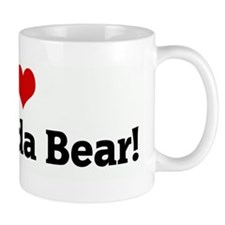 I Love my Panda Bear! Mug