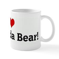I Love my Panda Bear! Small Mugs