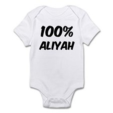 100 Percent Aliyah Infant Bodysuit