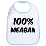 100 Percent Meagan Bib