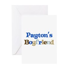 Payton's Boyfriend Greeting Card