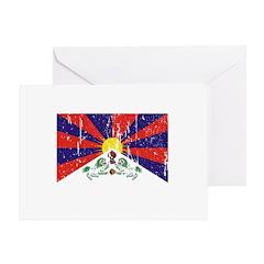 Tibetan Flag Greeting Card