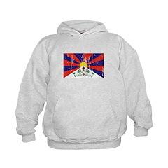 Tibetan Flag Kids Hoodie