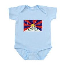 Tibetan Flag Infant Bodysuit