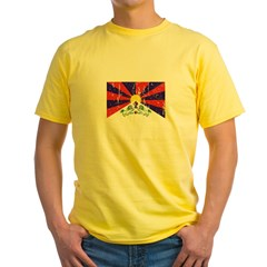 Tibetan Flag Yellow T-Shirt