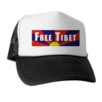 Free Tibet Trucker Hat