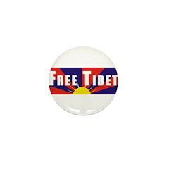 Free Tibet Mini Button (100 pack)
